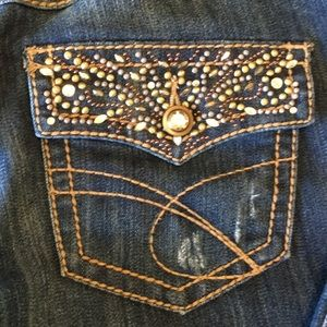INC Denim Jeans with Bling